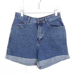 VTG Riders 100% Cotton High-Waisted Mom Shorts
